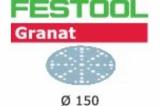 Шлифовальные круги Festool Фестул Granat StickFix Ø150 мм ROTEX