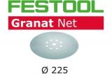 Шлифовальный материал Festool на сетчатой основе Ø225 (Фестул)