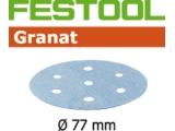 Шлифовальные круги Festool Фестул Granat StickFix Ø77 мм