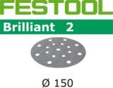 Шлифовальные круги Festool Brilliant 2 StickFix Ø150 мм (Фестул)