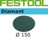 Шлифовальные круги Festool Diamant StickFix Ø150 мм для стойких к царапинам поверхностей (Фестул)