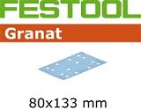 Шлифовальные полоски Festool Фестул Granat STF 80x133 мм