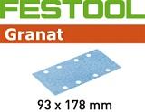 Шлифовальные полоски Festool Фестул Granat STF 93X178 мм