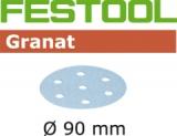 Шлифовальные круги Festool Granat StickFix Ø90 мм (Фестул)