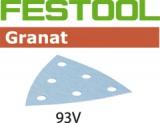 Шлифовальные листы Festool Фестул Granat StickFix 93V