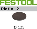 Шлифовальные круги Festool Platin 2 StickFix Ø125 мм для финишного шлифования (Фестул)