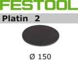 Шлифовальные круги Festool Фестул Platin 2 StickFix Ø150 мм для финишного шлифования