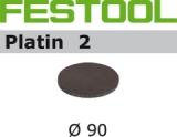 Шлифовальные круги Festool Platin 2 StickFix Ø90 мм для финишного шлифования (Фестул)