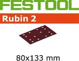 Шлифовальные полоски Festool Фестул Rubin 2 STF 80X133 мм
