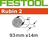 Рулон шлифленты Festool Rubin 2 STF 93мм Х 14м (Фестул)