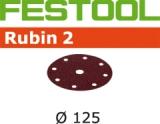 Шлифовальные круги Festool Фестул Rubin 2 StickFix Ø125 мм