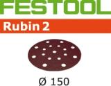 Шлифовальные круги Festool Rubin 2 StickFix Ø150 мм (Фестул)