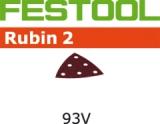 Шлифовальные листы Festool Фестул Rubin 2 StickFix 93V для древесных материалов