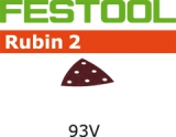 Шлифовальные листы Festool Rubin 2 StickFix 93V для древесных материалов (Фестул)