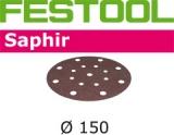Шлифовальные круги Festool Saphir StickFix Ø150 мм для жёстких условий применения (Фестул)