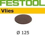 Шлифовальные круги Festool Vlies StickFix Ø125 мм для подшлифовки (Фестул)