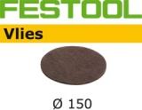 Шлифовальные круги Festool Vlies StickFix Ø150 мм для подшлифовки (Фестул)