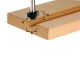 Фрезы Festool Фестул для формирования выпуклой четверти с дополнительной нижней режущей кромкой, хвостовик 8 мм