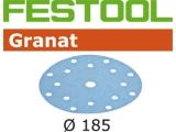 Шлифовальные круги Festool Фестул Granat StickFix Ø185 мм