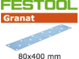 Шлифовальные полоски Festool Фестул Granat STF 80x400 мм