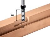 Пазовые однорезцовые фрезы Festool Фестул HW со сменными ножами с нижней режущей кромкой, хвостовик 12 мм
