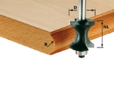 Профильная фреза Festool Фестул для полукруглого канта, хвостовик 8 мм