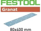 Шлифовальные полоски Festool Granat STF 80x400 мм (Фестул)