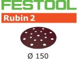 Шлифовальные круги Festool Фестул Rubin 2 StickFix Ø150 мм