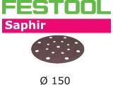 Шлифовальные круги Festool Фестул Saphir StickFix Ø150 мм для жёстких условий применения