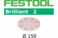 Шлифовальные круги Festool Фестул Brilliant 2, STF D150/48 P400 BR2/100