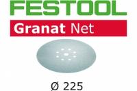 Шлифовальный материал на сетчатой основе STF D225 P180 GR NET/25