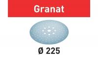 Шлифовальные круги Granat, STF D225/128 P180 GR/25, Festool Фестул 100tool.ru