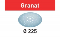 Шлифовальные круги Granat, STF D225/128 P320 GR/25, Festool Фестул 100tool.ru
