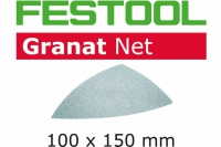 Шлифовальный материал на сетчатой основе STF DELTA P100 GR NET/50