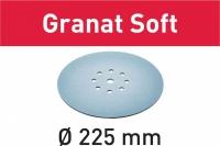 Шлифовальные круги Festool Фестул STF D225 P80 GR S/25 Granat Soft