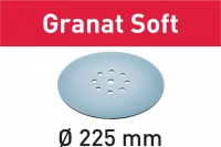 Шлифовальные круги Festool Фестул STF D225 P240 GR S/25 Granat Soft