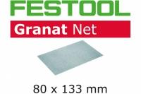 Шлифовальный материал на сетчатой основе STF 80x133 P100 GR NET/50