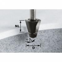 Фреза Festool Фестул для профилирования фасок HW с хвостовиком 12 мм, HW D33,54/15° ss S12