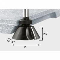 Фреза Festool Фестул для профилирования фасок HW с хвостовиком 12 мм, HW D66,5/30° ss S12