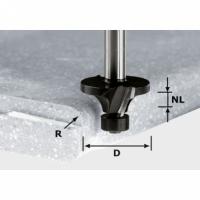 Фреза Festool Фестул скругляющая HW с хвостовиком 12 мм, HW R6.35/D28.8 ss S12