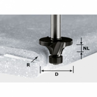 Фреза Festool Фестул скругляющая HW с хвостовиком 12 мм, HW R3/D22 ss S12