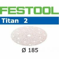 Шлифовальные круги Festool Фестул Titan 2, STF D185/16 P80 TI2/50