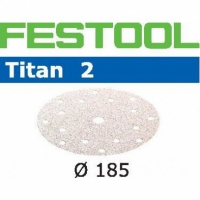 Шлифовальные круги Festool Фестул Titan 2, STF D185/16 P150 TI2/100