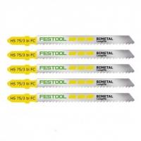 Пильное полотно для лобзика HS 75/3 BI-FC/5  Festool Фестул 100tool.ru