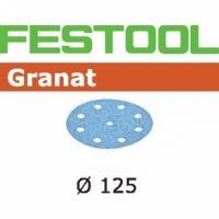Шлифовальные круги Festool Фестул Granat, STF D125/90 P80 GR/10