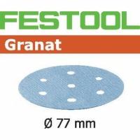 Шлифовальные круги Festool Фестул Granat, STF D77/6 P400 GR/50