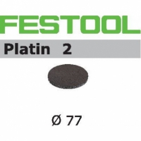 Шлифовальные круги Festool Фестул Platin 2, STF D80/0 S400 PL2/15