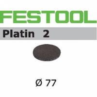 Шлифовальные круги Festool Фестул Platin 2, STF D80/0 S500 PL2/15