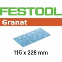 Шлифовальные полоски Festool Фестул Granat, STF 115X228 P40 GR/50