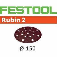 Шлифовальные круги Festool Фестул Rubin 2, STF D150/16 P80 RU2/10